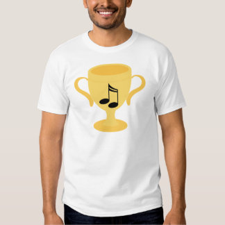 Music Notes Trophy Gift Shirts