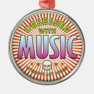 Music Obsessed R Christmas Ornaments