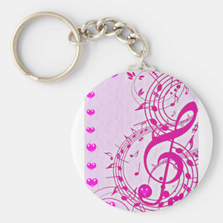Music of love_ key ring