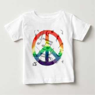 Music of peace_ infant T-Shirt