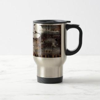 Music of the Night Stainless Steel Travel Mug