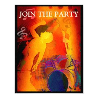 Music Party Invitation