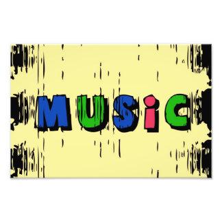 Music Photo Print