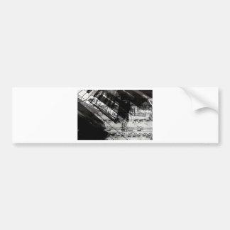 music, piano decor (10) bumper sticker