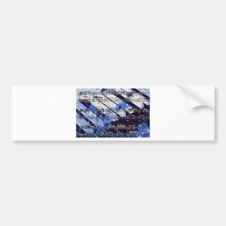 music, piano decor (3) bumper stickers
