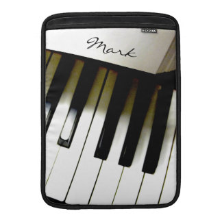 Music Piano Keyboard Personalized Sleeve For MacBook Air