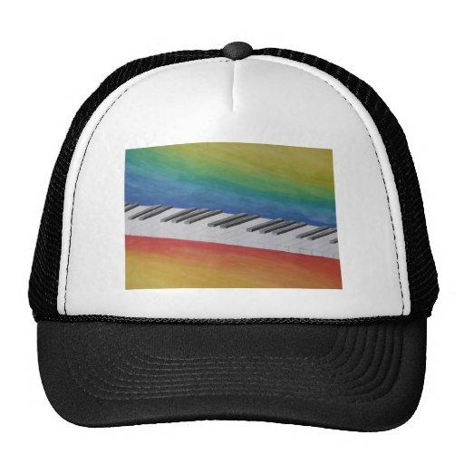 Music Piano Keys Notes Teacher Destiny Instruments Hat