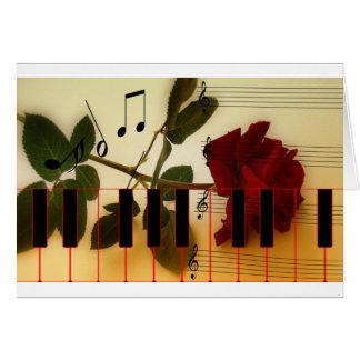 Music Piano Keys Notes Teacher Roses Instruments