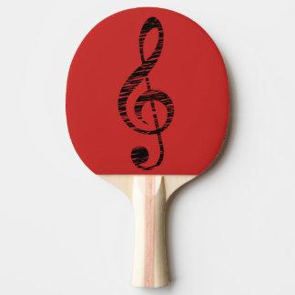 music ping pong paddle