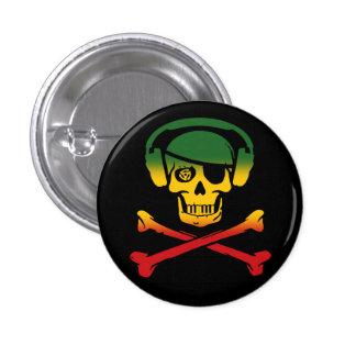 Music Pirate Pin: Reggae Version