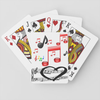 Music Playing Card Deck