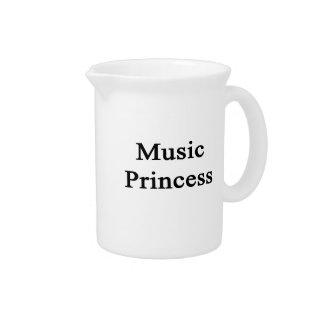 Music Princess Pitcher
