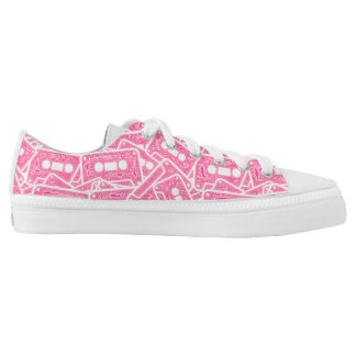 music printed shoes