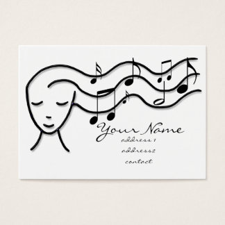 music profile card