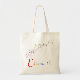 Music Rainbow Personalized Bag