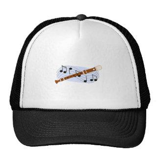 Music Recorder Instrument Hat