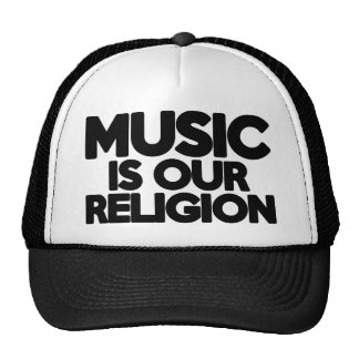 Music Religion Cap