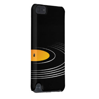 Music Retro Vinyl Record iPod Touch 5G Cases
