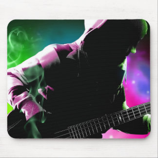 Music Rock N Roll, Colours of Music Passion, Guita Mouse Pad