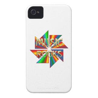 Music Rocks iPhone 4 Cases