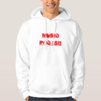 Music Rocks!! Hoodie
