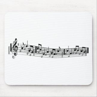 Music Rocks Me__ Mousepad