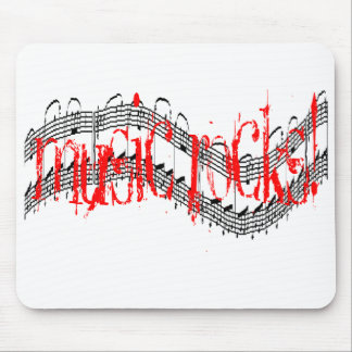 Music Rocks Mouse Pad