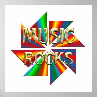 Music Rocks Posters