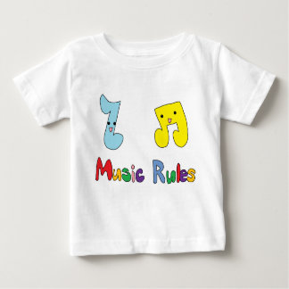 Music Rules Cute Music Notes Infant T-Shirt