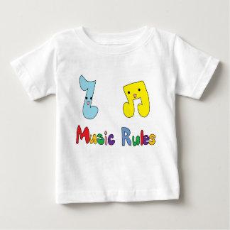 Music Rules Cute Music Notes Shirt