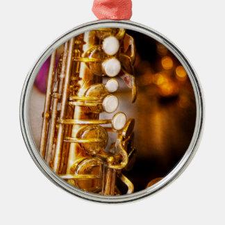 Music - Sax - Sweet jazz Christmas Tree Ornament