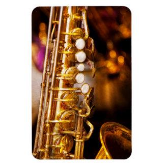 Music - Sax - Sweet jazz Flexible Magnet