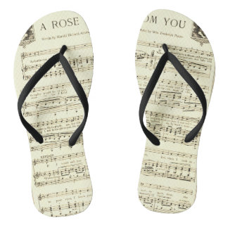 Music Score - A Rose From You Thongs