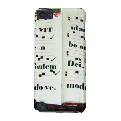 Music Score from the Past iPod Touch (5th Generation) Cases