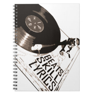 MUSIC SERIES PART 2 : HIP HOP - BEATS SKILL LYRICS NOTEBOOK