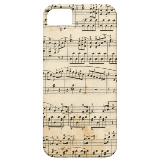 Music sheet case for the iPhone 5