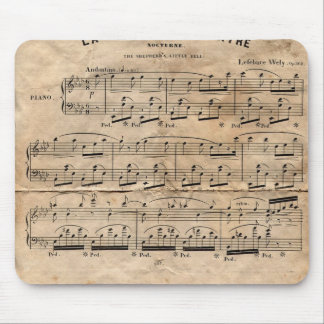 Music Sheet Mouse Pad