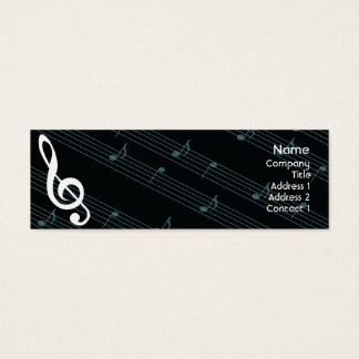 Music - Skinny Mini Business Card