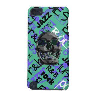 Music Skull iPod Touch 5G Cover