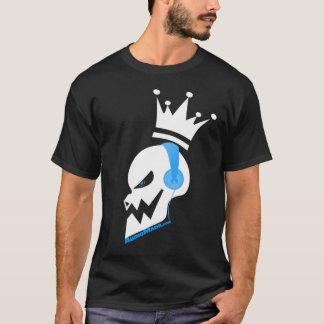 music skull headphones T-Shirt