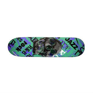 Music Skull Skate Boards