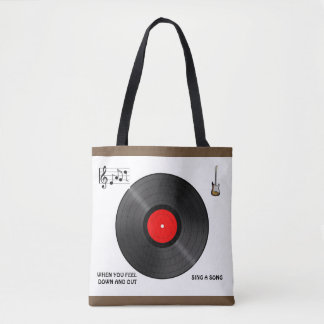 MUSIC SONG TOTE