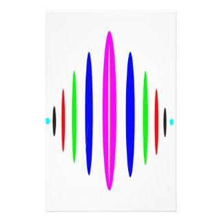 Music Sound Stationery Paper