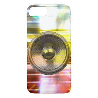 Music speaker and party lights iPhone 7 case