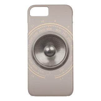Music speaker and retro radio dial iPhone 7 case