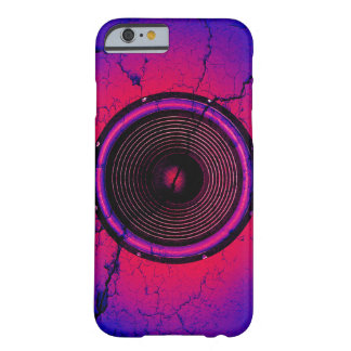 Music speaker on a cracked wall barely there iPhone 6 case