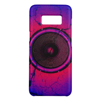 Music speaker on a cracked wall Case-Mate samsung galaxy s8 case