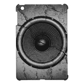Music speaker on a cracked wall iPad mini cover