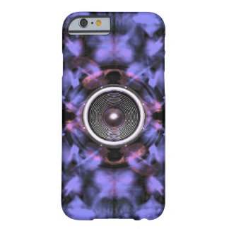 Music speaker on a purple background iphone 6 case barely there iPhone 6 case