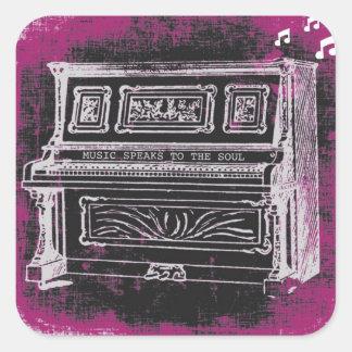 Music Speaks Stickers